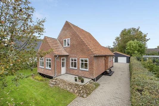 Villa på Allegade i Holsted - Ejendommen