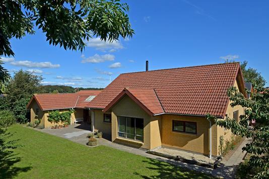 Villa på Baslund i Vejen - Mastefoto