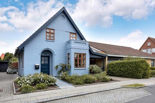 Villa på Bryggergade i Vejen - Ejendommen