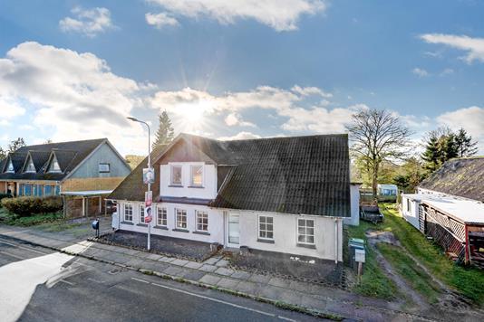 Villa på Hovborgvej i Brørup - Ejendommen