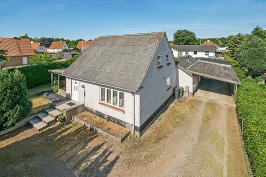 Villa på Nørregade i Holsted - Ejendommen