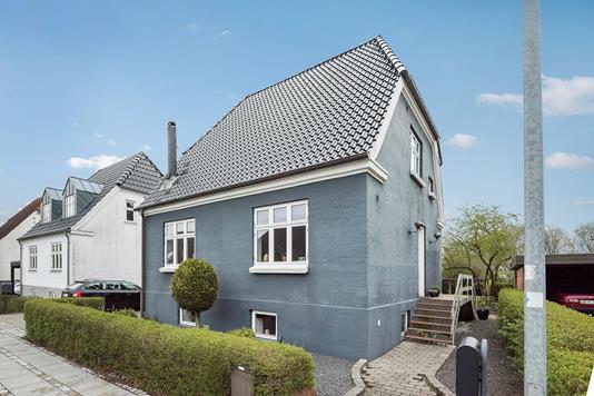 Villa på Øster Alle i Vejen - Ejendommen