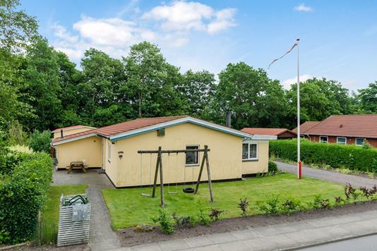 Villa på Okslundvej i Brørup - Ejendommen