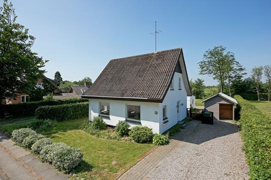 Villa på Ø. Skibelundvej i Vejen - Mastefoto