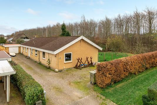 Villa på Rammelhøj i Rødding - Ejendommen