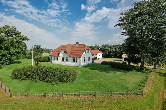 Villa på Ribevej i Holsted - Mastefoto