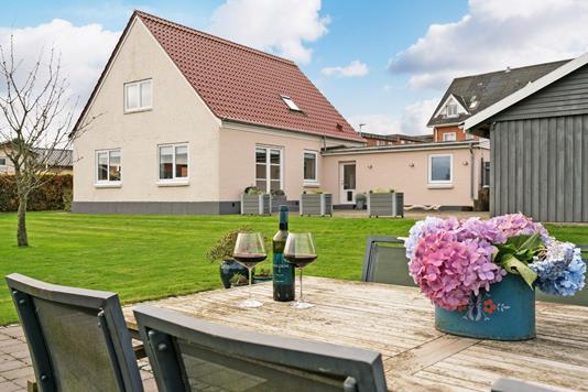 Villa på Vesterled i Vejen - Terrasse