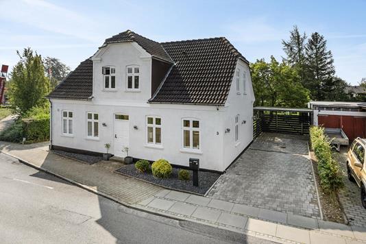 Villa på Vestergade i Brørup - Ejendommen