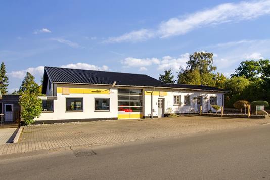 Villa på Borgergade i Vemmelev - Ejendommen