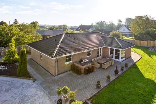Villa på Lerklinten i Korsør - Ejendommen