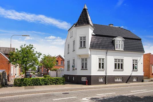 Villa på Mathiesensvej i Korsør - Ejendommen