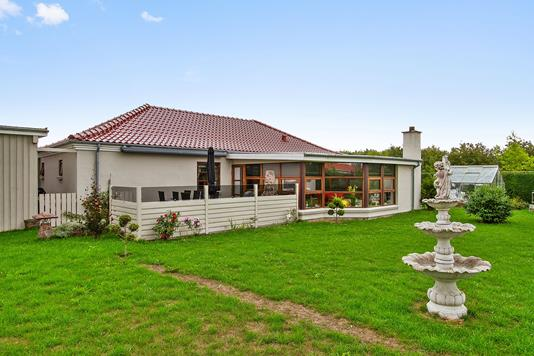 Villa på Vejsgårdparken i Vemmelev - Set fra haven