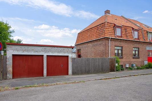 Villa på Egøgade i Korsør - Set fra vejen