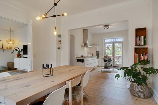 Villa på Thiesens Alle i Korsør - Spisestue