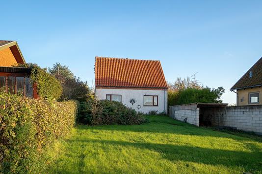 Villa på Vinkelvej i Korsør - Set fra haven