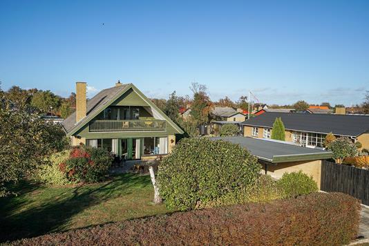 Villa på Thorsvej i Korsør - Set fra haven