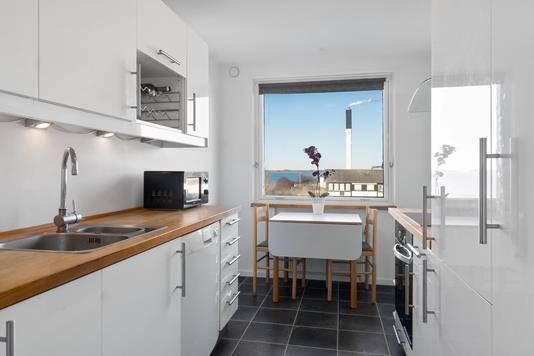 Ejerlejlighed på Tyreengen i Korsør - Køkken