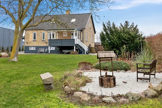 Villa på Skaboeshusevej i Nyborg - Set fra haven