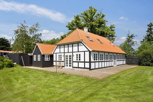 Fritidsbolig på Drejet i Nyborg - Set fra haven