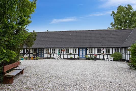 Villa på Korkendrupvej i Ullerslev - Ejendommen