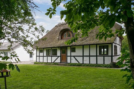 Villa på Såderupvej i Ullerslev - Set fra haven