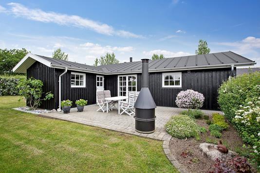 Fritidsbolig på Sommerbyen i Nyborg - Set fra haven