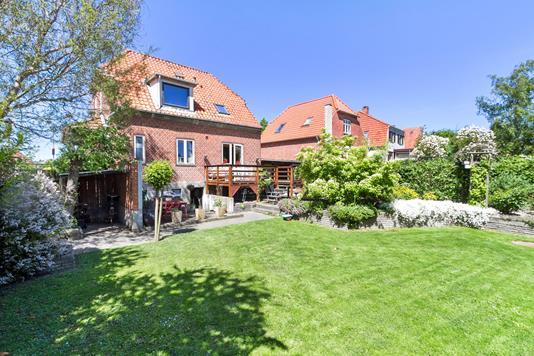 Villa på Nymarksvej i Nyborg - Set fra haven