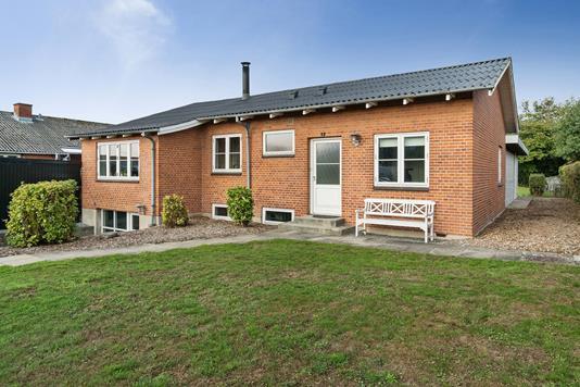 Villa på Karseløkken i Nyborg - Set fra haven