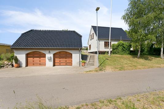 Villa på Postkrogen i Ullerslev - Ejendommen