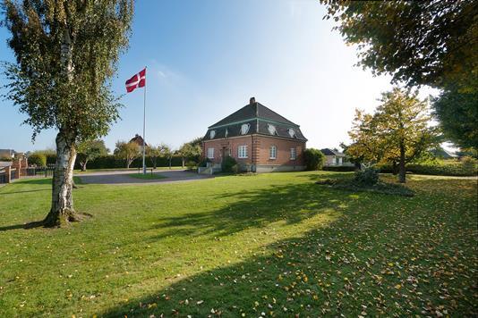 Villa på Odensevej i Nyborg - Set fra haven