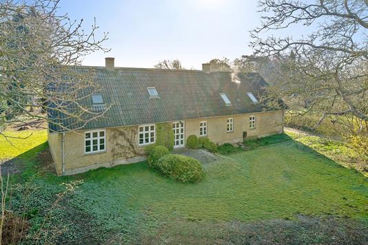 Villa på Bystævnet i Nyborg - Set fra haven