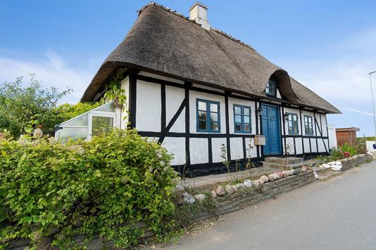 Villa på Kogsbøllevej i Nyborg - Set fra vejen