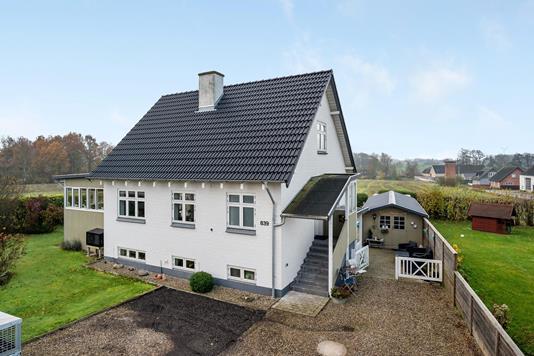 Villa på Ørbækvej i Ferritslev Fyn - Ejendommen