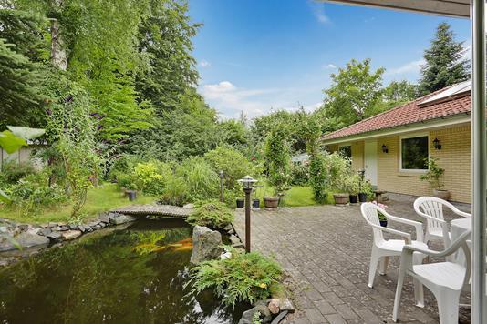 Villa på Skovbrynet i Fredensborg - Terrasse