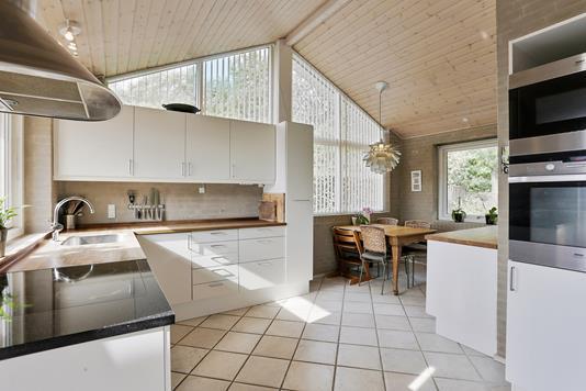Villa på Lyngbakken i Hillerød - Køkken