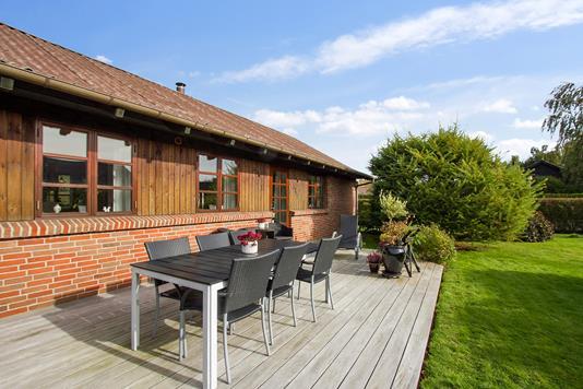 Villa på Hyacintvej i Hillerød - Terrasse