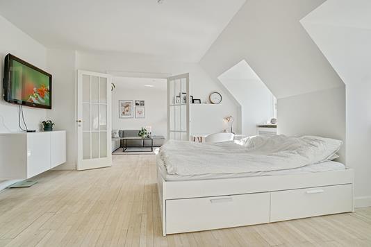 Ejerlejlighed på Slangerupgade i Hillerød - Soveværelse