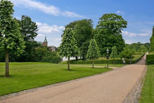 Villa på Batzkes Bakke i Hillerød - Udendørs