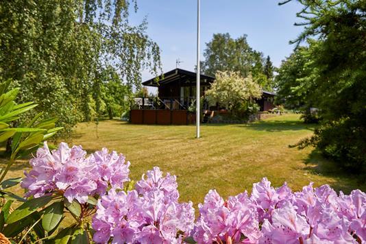 Fritidsbolig på Bue-Ager i Græsted - Have