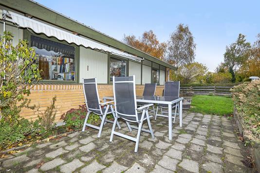 Villa på Bjørn Andersens Vej i Græsted - Terrasse