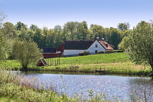 Villa på Præstevejen i Græsted - Ejendommen