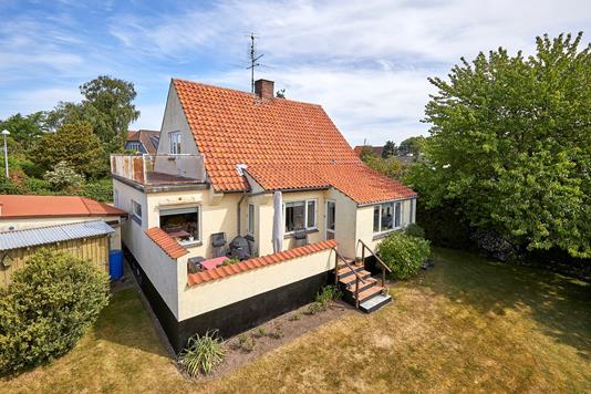 Villa på Mentz Alle i Gilleleje - Ejendommen