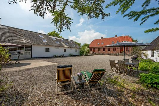 Villa på Tangen i Grenaa - Gårdsplads