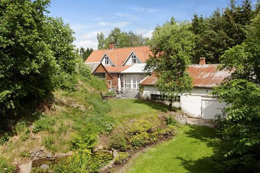 Villa på Hemmedvej i Glesborg - Mastefoto