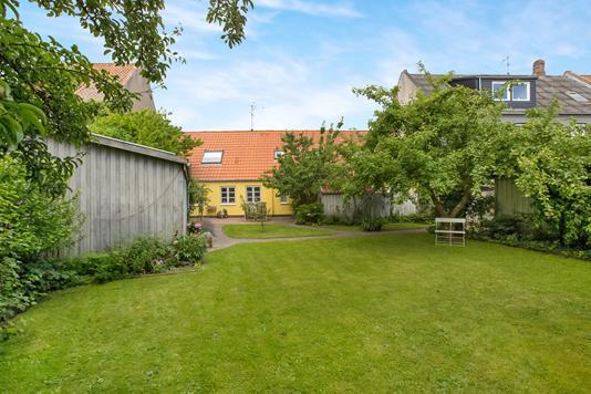 Villa på Storegade i Grenaa - Have
