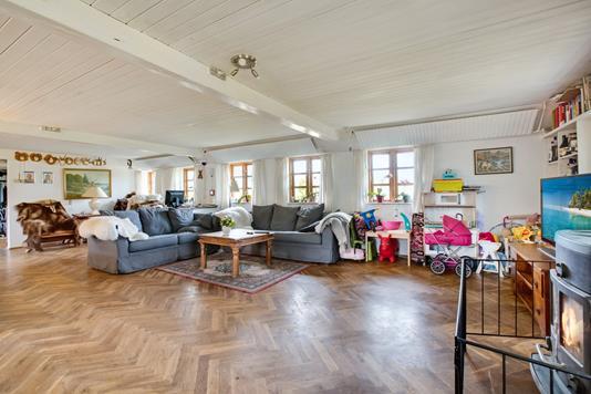 Villa på Stendyssevej i Ørum Djurs - Stue