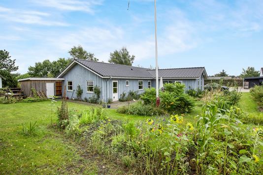 Villa på Fiskervej i Glesborg - Ejendommen
