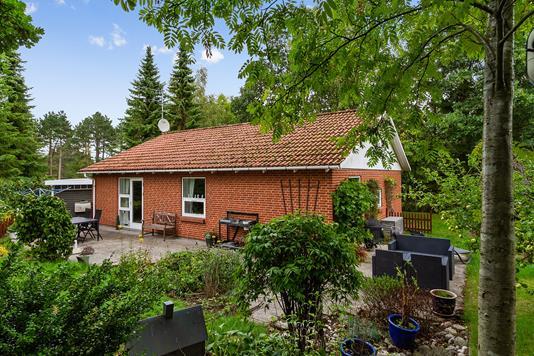 Villa på Skovskadevej i Ebeltoft - Set fra haven