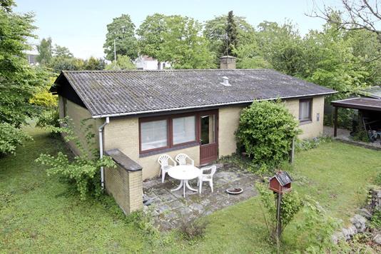 Villa på Kirkevænget i Ebeltoft - Ejendommen