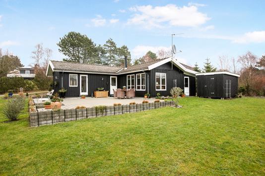 Villa på Klodevej i Ebeltoft - Have